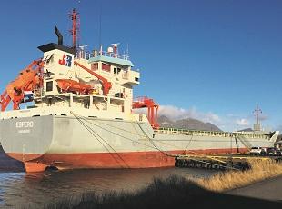 espero - containerfeeder - schip